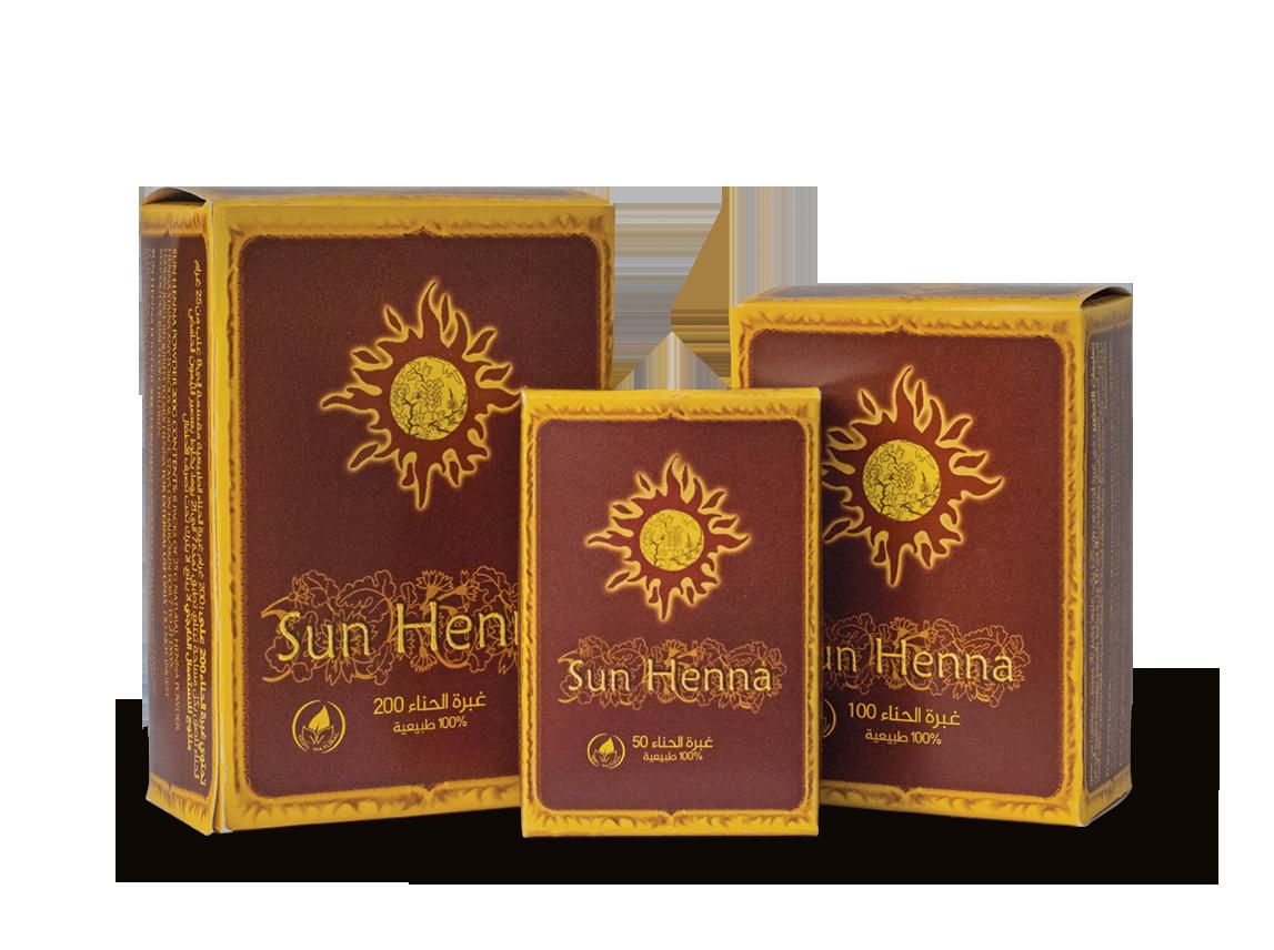 Sun Henna Poudre de Henné 50, 100 & 200