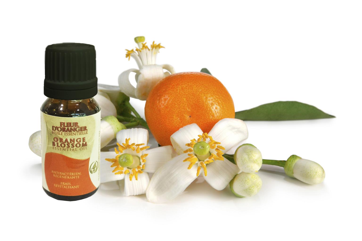 Huile Essentielle de Fleurs d'Oranger par Atlas Cosmetics