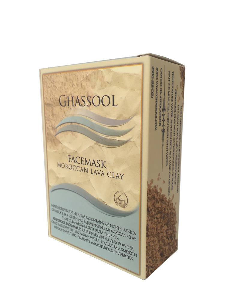 Ghassool FaceMask 250 - Moroccan Lava Clay